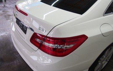 Salon Mobil Mercedez Benz E180 Jogja