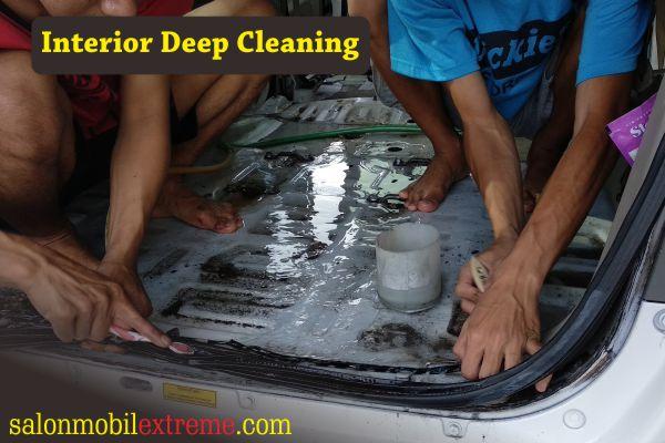 Salon Interior Deep Cleaning Jogja