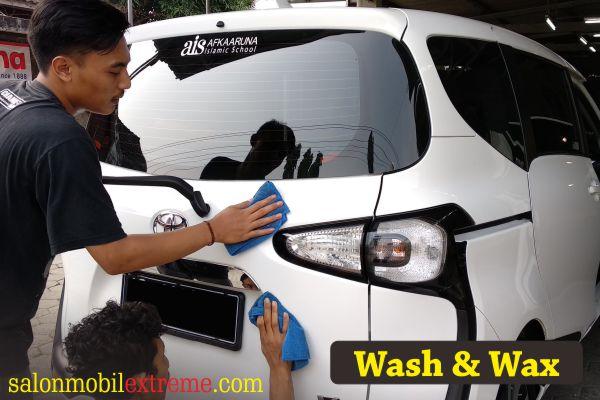 cuci mobil wax jogja